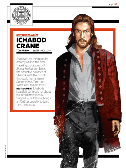 EW: 25 Best Characters on TV Right Now - 8/15/14 (digital)