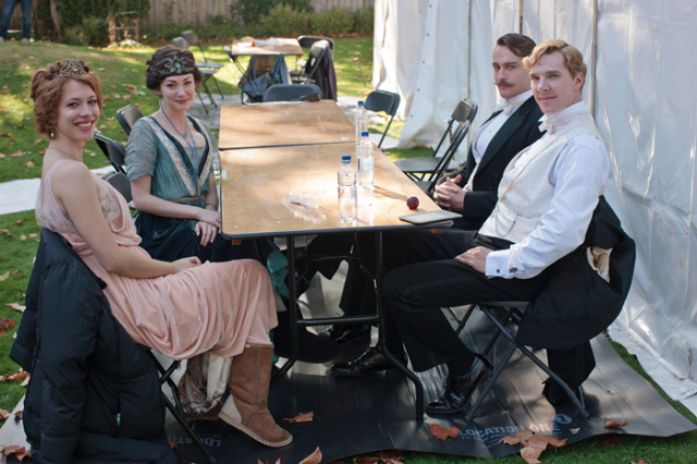 BTS Image - Parade's End