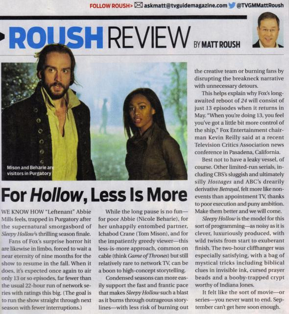 TV Guide - 2/6-23 Issue - Roush Review
